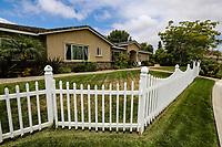 June 16, 2018. Vista, CA. USA.| Siver Oak retirement home.  | Photo: Jamie Scott Lytle. Copyright.
