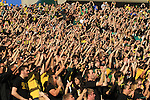 10/02/10-- The Oregon student section were in full force before the game against Stanford at Autzen Stadium in Eugene, Or..Photo by Jaime Valdez......