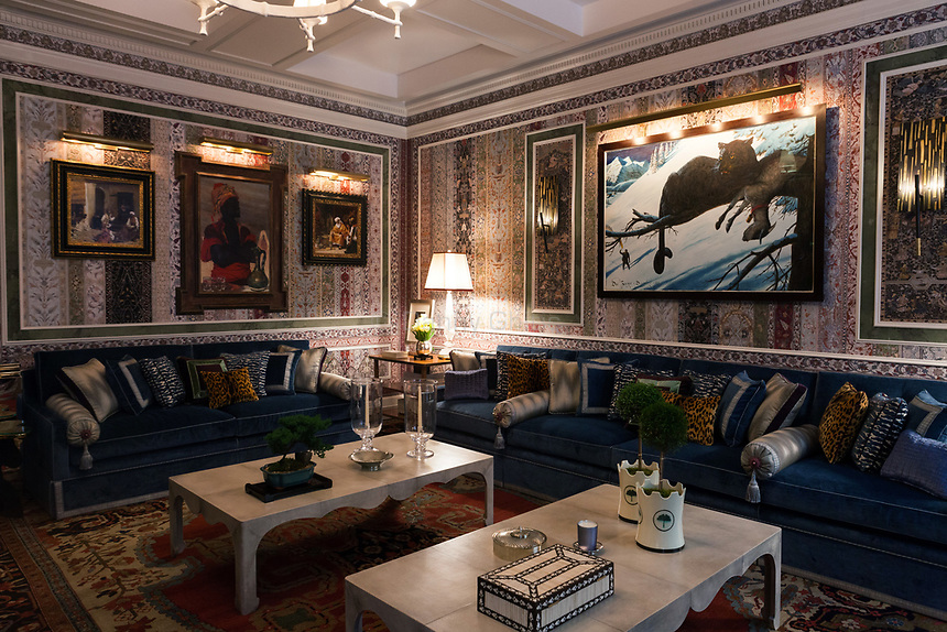 Design by Richard Mishaan Design, LLC at The 45th Kips Bay Decorator Show House, at 125 East 65th St. <br /> <br /> Danny Ghitis for The New York Times
