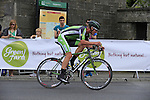 Ryan Mullen (An Post Chain Reaction) on his final lap during the Irish National Men's Elite Road Race Championships held over an undulating course featuring 9 laps centered in the village of Multyfarnham, Co.Westmeath, Ireland. 29th June 2014.<br /> Picture: Eoin Clarke www.newsfile.ie