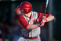 Indiana Hoosiers pinch hitter Scotty Bradley (30) at bat during a game against the Illinois State Redbirds on March 4, 2016 at North Charlotte Regional Park in Port Charlotte, Florida.  Indiana defeated Illinois State 14-1.  (Mike Janes/Four Seam Images)