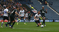 Preston North End's Patrick Bauer is awarded his team second penally after he is fouled by Newcastle United's Ronaldo Aarons <br /> <br /> Photographer Stephen White/CameraSport<br /> <br /> Football Pre-Season Friendly - Preston North End v Newcastle United - Saturday July 27th 2019 - Deepdale Stadium - Preston<br /> <br /> World Copyright © 2019 CameraSport. All rights reserved. 43 Linden Ave. Countesthorpe. Leicester. England. LE8 5PG - Tel: +44 (0) 116 277 4147 - admin@camerasport.com - www.camerasport.com