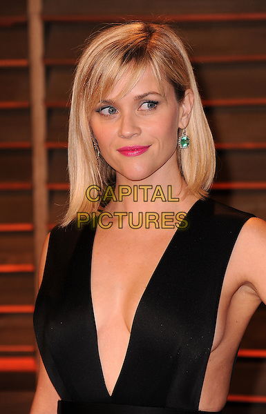 WEST HOLLYWOOD, CA - MARCH 2: Reese Witherspoon arrives at the 2014 Vanity Fair Oscar Party in West Hollywood, California on March 2, 2014.  <br /> CAP/MPI/MPI213<br /> &copy;MPI213/MediaPunch/Capital Pictures