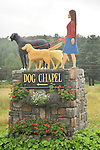 Dog Chapel signage.