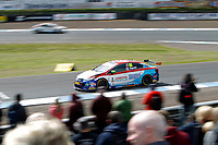 Round 8 of the 2018 British Touring Car Championship.  #80 Tom Ingram. Speedworks Motorsport. Toyota Avensis.