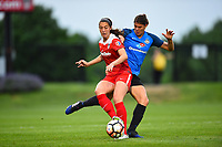 Boyds, MD - Saturday May 20, 2017: Arielle Ship, Brittany Taylor during a regular season National Women's Soccer League (NWSL) match between the Washington Spirit and FC Kansas City at Maureen Hendricks Field, Maryland SoccerPlex.