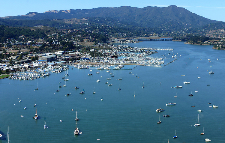 October 16, 2005; Sausalito, CA, USA; Aerial view of Sausalito, California and Mt. Tamalpais. Photo by: Phillip Carter