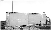 3/4 view of box car #3390 at Antonito.  Stencilled &quot;Flour Sugar And Bean Loading Only&quot;.  24&quot; herald.<br /> D&amp;RGW  Antonito, CO  Taken by Maxwell, John W. - 7/2/1941