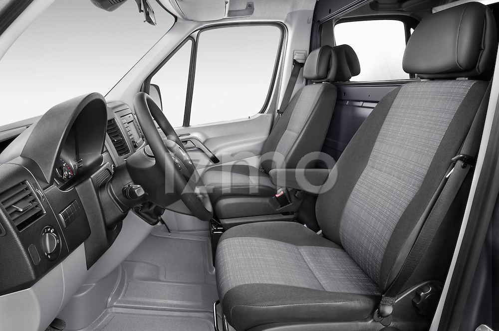 Front seat view of 2016 Mercedes Benz Sprinter-Cargo-Van 2500-144-WB-High-Roof 4 Door Cargo Van Front Seat  car photos