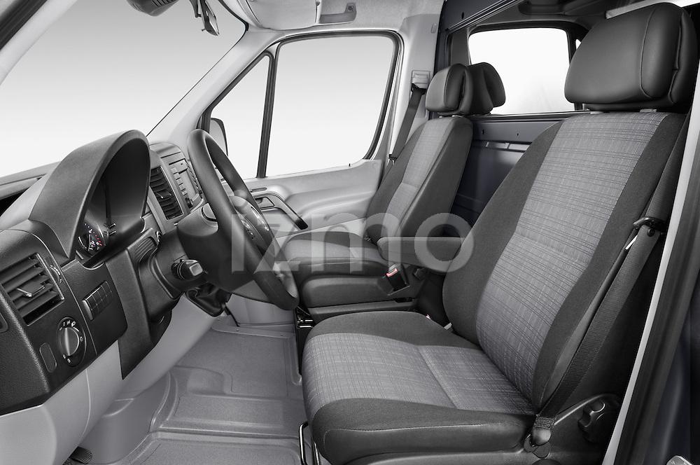 Front seat view of 2016 Mercedes Benz Sprinter-Cargo-Van 2500-144-WB-High-Roof 4 Door Cargo Van Front Seat  car photos