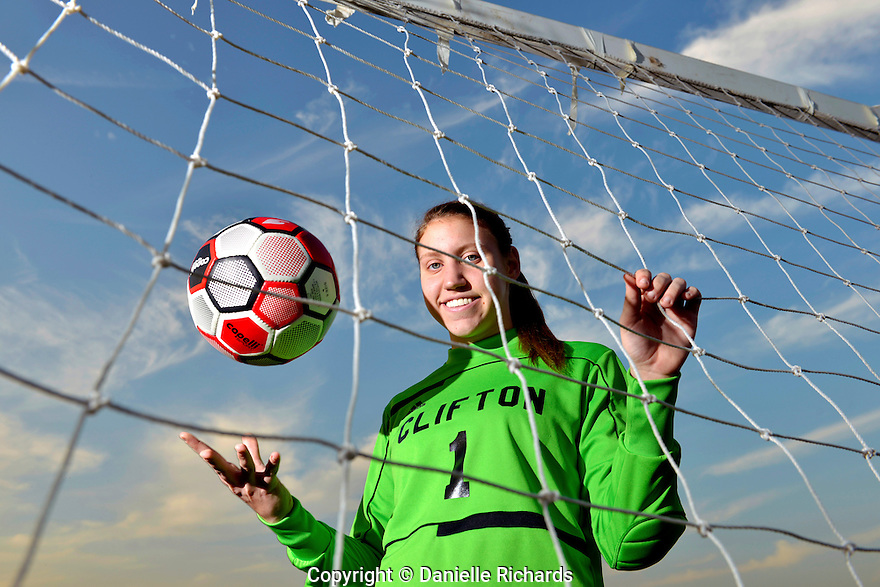 Clifton, NJ 12/4/12  Rachel Egyed, North Jersey Soccer Player of the Year.  Clifton junior goalie Rachel Egyed is the North Jersey Girls Soccer Player of the Year. Danielle Richards / For the Star LedgerClifton, NJ 12/4/12  Rachel Egyed, North Jersey Soccer Player of the Year.  Clifton junior goalie Rachel Egyed is the North Jersey Girls Soccer Player of the Year. Danielle Richards / For the Star Ledger