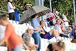 Mannheim, Germany, October 19: Finalspiel in der Zwischenrunde zur Deutschen Meisterschaft der WJA zwischen dem Mannheimer HC und Klipper Hamburg in der Saison 2014/15 am October 19, 2014  Mannheimer Hockey Club in Mannheim, Germany. Endstand 8-0 (4-0). (Photo by Dirk Markgraf / www.265-images.com) *** Local caption ***
