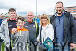 Darren David and David Horan, Brosna, Bernie and JJ Canty, Tralee and after Kerry won the Junior all Ireland in Portlaoise on Saturday.