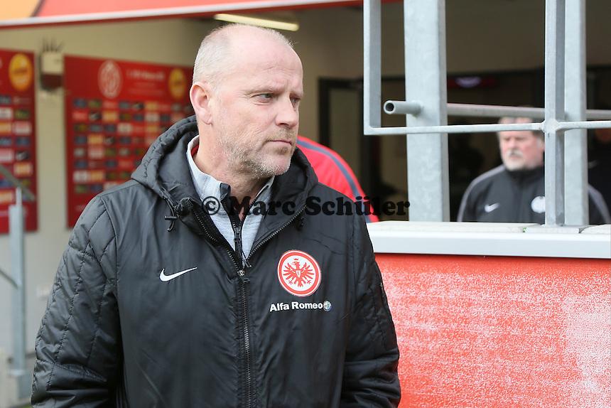 Trainer Thomas Schaaf (Eintracht) - 1. FSV Mainz 05 vs. Eintracht Frankfurt, Coface Arena