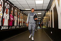 Neil Etheridge of Cardiff City arrives for the Sky Bet Championship match between Swansea City and Cardiff City at the Liberty Stadium in Swansea, Wales, UK. Sunday 27 October 2019