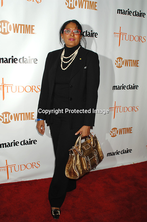 "Pam Grier..at The Showtime and Marie Claire New York Premiere of ""The Tudors"" at The Hearst Tower. The Show premieres on Showtime on April 1, 2007...Robin Platzer, Twin Images"