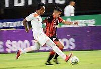 CÚCUTA- COLOMBIA, 03-02-2019:Acción de juego entre los equipos Cúcuta Deportivo y el Envigado durante partido por la fecha 3 de la Liga Águila I  2019 jugado en el estadio General Santander de la ciudad de Cúcuta . / Actio game between Cucuta Deportivo and Envigado teams  during the match for the date 3 of the Liga Aguila I 2019 played at the General Santander  stadium in Cucuta  city. Photo: VizzorImage / Manuel Hernández  / Contribuidor