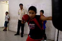 Tepito Gym in the Tepito neighbourhood of Mexico City September 18, 2007