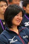 Maki Tabata, APRIL 21, 2013 : The Building up Team Japan 2013 for Sochi at Ajinomoto NTC, Tokyo, Japan. (Photo by AFLO SPORT)