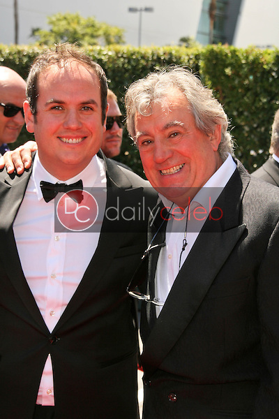 Bill Jones and father Terry Jones<br /> at the 2010 Primetime Creative Arts Emmy Awards,  Nokia Theater L.A. Live, Los Angeles, CA. 08-21-10<br /> David Edwards/DailyCeleb.com 818-249-4998