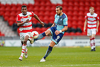 Paul Hayes of Wycombe Wanderers during the Sky Bet League 2 match between Doncaster Rovers and Wycombe Wanderers at the Keepmoat Stadium, Doncaster, England on 29 October 2016. Photo by David Horn.