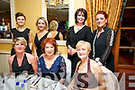 Kerry Radio Business awards night at Ballygarry House Hotel on Friday. Pictured front l-r Sinead Cahill, Mary Shanahan,Breda Galway, Maria Galvin, back l-rLisa Gainey Denise Burke, Carmel Prendiville