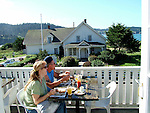 Breakfast in Mendocino