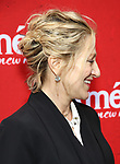 Edie Falco, hair detail, attends the Broadway Opening Night performance of 'Amelie' at the Walter Kerr Theatre on April 3, 2017 in New York City