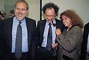 (from L) Francesco Greco, Gherado Colombo and Ilda Boccassini, Public Prosecutors, coming from Milan Courthouse at a meeting in Berna, Switzerland, November 2, 1995. © Carlo Cerchioli..(da D) Francesco Grego, Gherardo Colombo e Ilda Boccassini, Sostituti Procuratori a Milano, durante un incontro a Berna 2 novembre 1995.