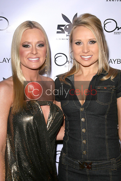 Katie Lohmann and Alana Curry <br /> at the Party for the 55th Annual Playboy Playmate. One Sunset, West Hollywood. 12-12-08<br /> Dave Edwards/DailyCeleb.com 818-249-4998