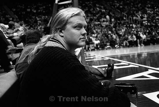 Jason Olson at Utah Jazz vs. Philadelphia 76ers<br />