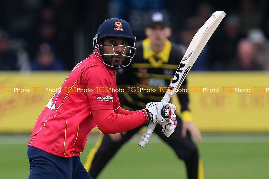 Ravi Bopara in batting action for Essex during Essex Eagles vs Gloucestershire, Royal London One-Day Cup Cricket at The Cloudfm County Ground on 4th May 2017