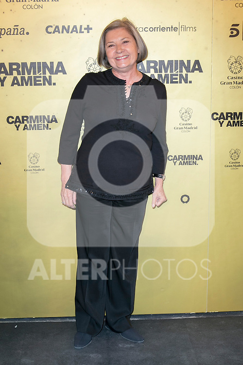 "Spanish actress Tina Sanz attend the Premiere of the movie ""Carmina y Amen"" at the Callao Cinema in Madrid, Spain. April 28, 2014. (ALTERPHOTOS/Carlos Dafonte)"