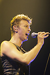 Live photographs of David Bowie.