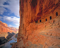 Nankoweap Ruins, Grand Canyon National Park, Arizona  Marble Canyon Anceint Native American structures