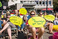 2017/08/29 Wirtschaft | ver.di | Protest Friseur-Azubis