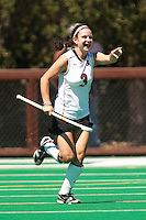 STANFORD, CA - SEPTEMBER 6: Hope Burke plays against Michigan State on September 6, 2010 in Stanford, California.
