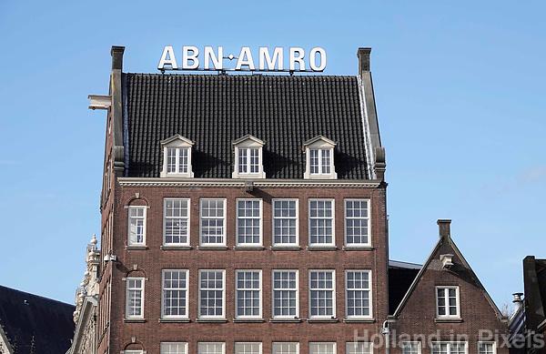Nederland -  Amsterdam -  2018. Kantoor van ABN-AMRO.   Foto Berlinda van Dam / Hollandse Hoogte