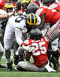 2016 Michigan football vs Ohio State, 11-26-16