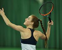 Rotterdam, The Netherlands, March 18, 2016,  TV Victoria, NOJK 14/18 years, Chanel Janssen (NED)<br /> Photo: Tennisimages/Henk Koster