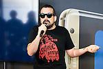 Nacho Vigalondo during the presentation of his new short film in 360º at the Festival de Cine Fantastico de Sitges in Barcelona. October 08, Spain. 2016. (ALTERPHOTOS/BorjaB.Hojas)