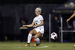 WINSTON-SALEM, NC - NOVEMBER 10: Wake Forest's Bayley Feist. The Wake Forest University Demon Deacons hosted the Georgetown University Hoyas on November 10, 2017 at W. Dennie Spry Soccer Stadium in Winston-Salem, NC in an NCAA Division I Women's Soccer Tournament First Round game. Wake Forest advanced 2-1 on penalty kicks after the game ended in a 0-0 tie after overtime.