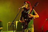 Tame Impala - vocalist and guitarist Kevin Parker - performing live at The Hammersmith Apollo, London UK - 25 June 2013.   Photo credit: Justin Ng/Music Pics Ltd/IconicPix