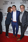 Director Matt Ratner and his parents arrive at the world premiere of Standing Up, Falling Down at the 2019 Tribeca Film Festival presented by AT&T Thursday, April 25, 2019 at SVA Theater - 333 West 23 Street New York, NY.