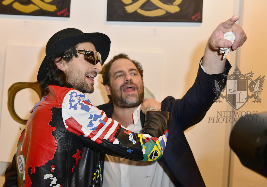 MIAMI, FL - DECEMBER 02: Adrien Brody and Brett Ratner attends Haute Living And Zacapa Rum Present Domingo Zapata at Lulu Laboratorium on Wednesday December 2, 2015 in Miami, Florida. (Photo by Johnny Louis/jlnphotography.com)