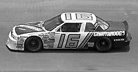 Larry Pearson (16) Buick 30th place action Pepsi 400 at Daytona International Speedway in Daytona beach, FL on July 1, 1989. (Photo by Brian Cleary/www.bcpix.com)