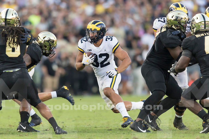 The University of Michigan football team beat Purdue, 28-10, at Ross-Ade Stadium in West Lafayette, Ind., on Sept. 23, 2017.