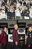 São Paulo (SP), 10/10/2019 - CORINTHIANS-ATHLETICO - Tiago Nunes (técnico) do Athletico.Corinthians e Athletico, pela 24ª rodada do Campeonato Brasileiro 2019, na Arena, em Itaquera zona leste de SP, nesta quinta-feira (10).