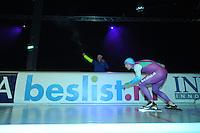 SCHAATSEN: ZAANDAM: 08-10-2013, Taets art Gallery, Perspresentatie Team Beslist.nl, Mark Tuitert, ©foto Martin de Jong