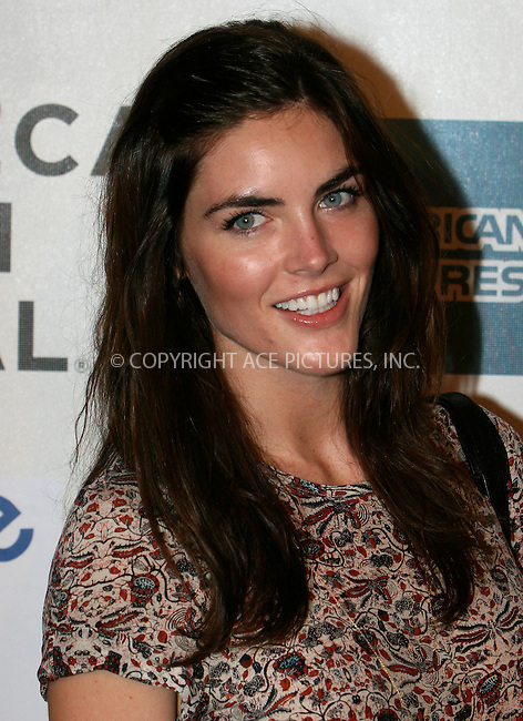 WWW.ACEPIXS.COM . . . . .  ....April 25 2011, New York City....Model Hilary Rhoda arriving at the Tribeca Film Festival and Cinema Society premiere of 'Last Night' at BMCC Tribeca PAC on April 25, 2011 in New York City. ....Please byline: NANCY RIVERA- ACEPIXS.COM.... *** ***..Ace Pictures, Inc:  ..Tel: 646 769 0430..e-mail: info@acepixs.com..web: http://www.acepixs.com